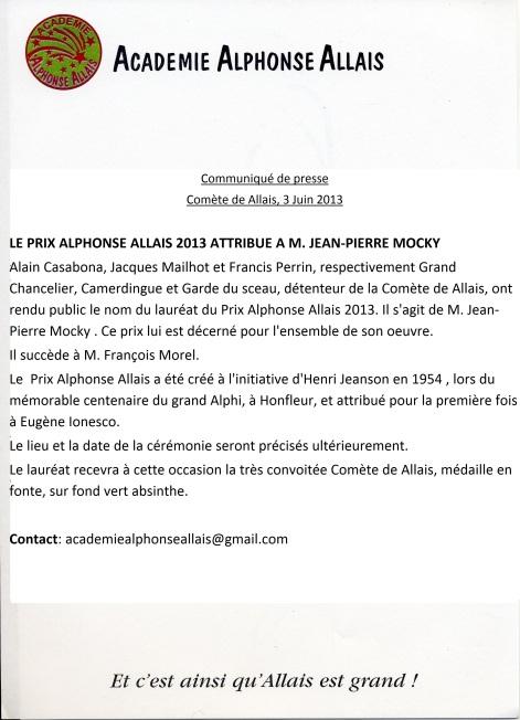 Le Prix Alphonse Allais 2013 (2)