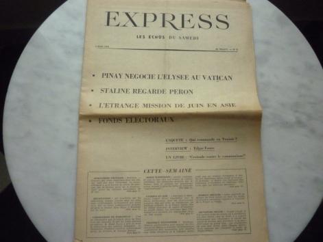 L'Express n° 1